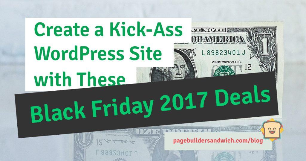 Create WordPress Website With Black Friday Sale 2017 Deals
